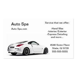 Tienda de detalle tarjetas de visita