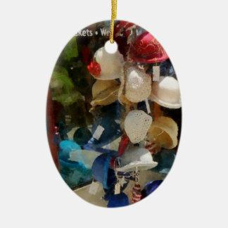 Tienda de gorra ornamentos de navidad