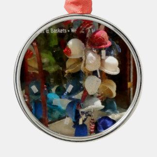 Tienda de gorra ornamento para arbol de navidad