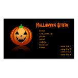 Tienda de Halloween Plantillas De Tarjetas De Visita