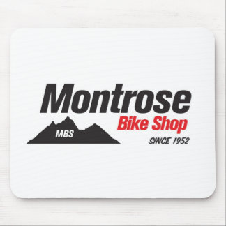 Tienda de la bici de Montrose Alfombrillas De Raton