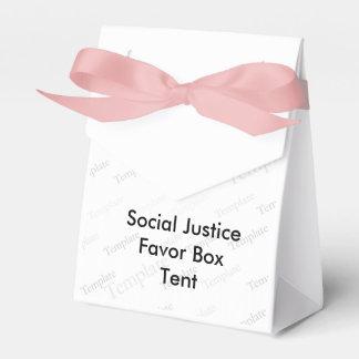 Tienda de la caja del favor de la justicia social caja para regalos