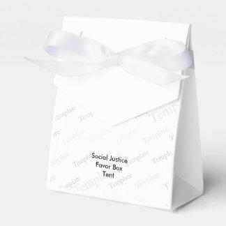 Tienda de la caja del favor de la justicia social cajas para regalos de boda