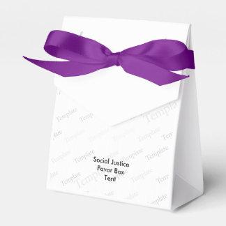 Tienda de la caja del favor de la justicia social cajas para regalos de fiestas