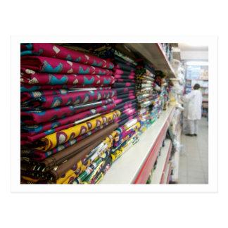 Tienda de la materia textil, Abuya Tarjeta Postal