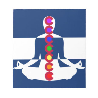 Tienda de la meditación de Colorado Chakra Libretas Para Notas