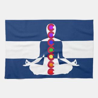 Tienda de la meditación de Colorado Chakra Toalla De Mano