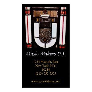 Tienda de la música o tarjeta de visita del disc