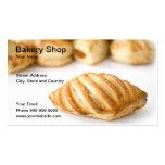 tienda de la panadería tarjeta personal