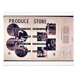 Tienda de la producción comunicados personalizados