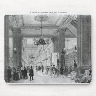 Tienda de la tela, d'Antin de la Chaussee de 9 rud Alfombrilla De Raton