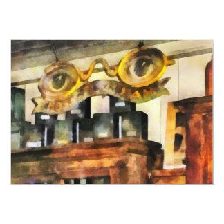 Tienda de las gafas comunicados personalizados