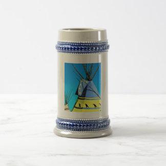 Tienda de los indios norteamericanos Stein Jarra De Cerveza