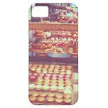 Tienda de los macarrones de Francia del vintage iPhone 5 Case-Mate Cárcasa