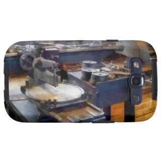 Tienda de máquina con la prensa de sacador galaxy s3 fundas