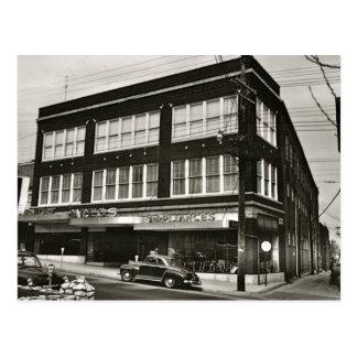 Tienda de muebles 1954 de Zarfos Tarjeta Postal