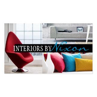 Tienda de muebles exterior del diseñador del inter tarjetas de visita
