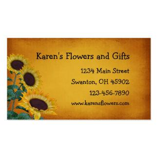 Tienda de regalos del arte de la flor tarjetas de visita