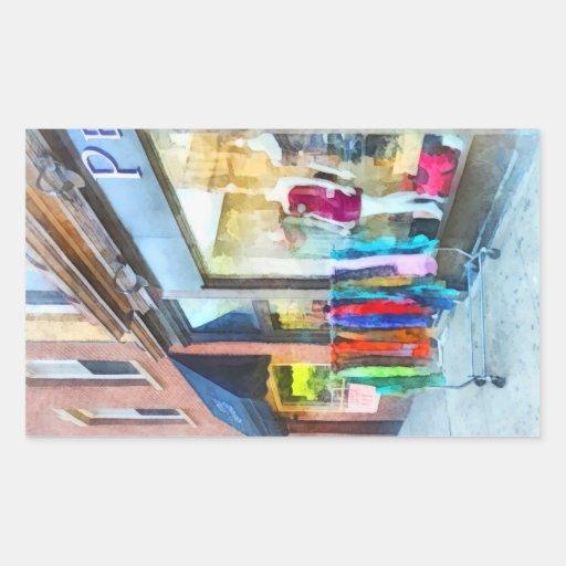 Tienda de ropa Hoboken NJ Pegatina