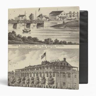 """Tienda de Schellinger y casa del océano Carpeta 1 1/2"""""""