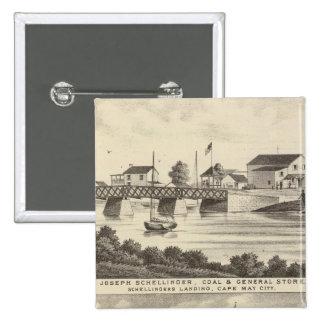 Tienda de Schellinger y casa del océano Pin Cuadrado