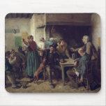 Tienda de vino lunes, 1858 mousepads