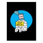 Tienda del cebo de pesca del hielo postal