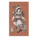 Tienda del diseñador de vestuario/de la ropa vinta plantilla de tarjeta de visita