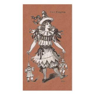Tienda del diseñador de vestuario de la ropa vinta plantilla de tarjeta de visita