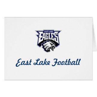 Tienda del este de la fan de Eagles del lago Tarjeta De Felicitación