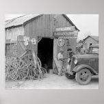 Tienda del herrero, 1939 impresiones