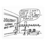 Tienda del hilo tarjeta postal