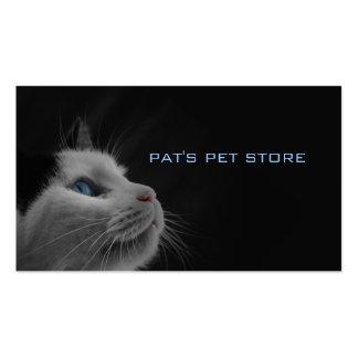 Tienda del mascota de Pat Tarjeta De Negocio