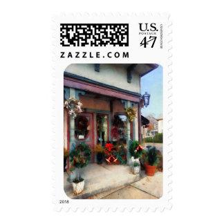 Tienda del navidad sellos postales
