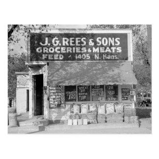 Tienda del ultramarinos y de la alimentación 1938