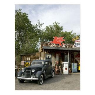 Tienda general de la ruta 66 y gasolinera postales