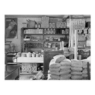 Tienda general del país, 1936 tarjeta postal