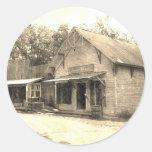 Tienda general del vintage pegatinas