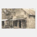 Tienda general del vintage rectangular altavoces