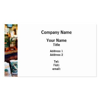 Tienda general tarjetas de visita