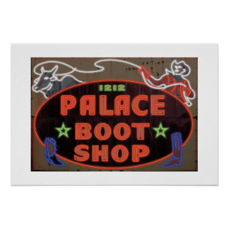 Tienda-Impresión de la bota del palacio Posters