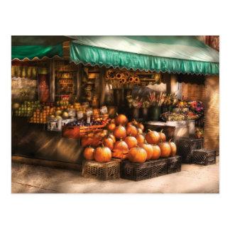 Tienda - la mercado de la fruta tarjeta postal