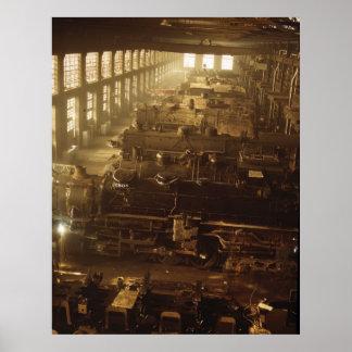 Tienda locomotora, 1942 posters