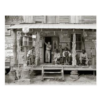 Tienda rural de Carolina, 1939 Postal