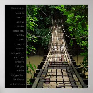 Tienda un puente sobre a Jurassic Park el poster