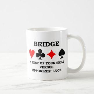 Tienda un puente sobre una prueba de su habilidad  taza