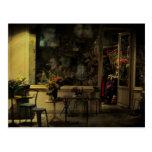 Tienda vieja París de la curiosidad Tarjetas Postales