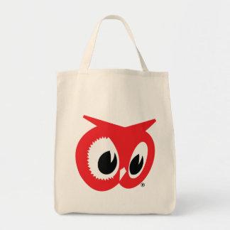 Tiendas de alimentación rojas del búho - bolso reu bolsa de mano