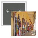 Tiendas de souvenirs en Cartagena Colombia Pin Cuadrado