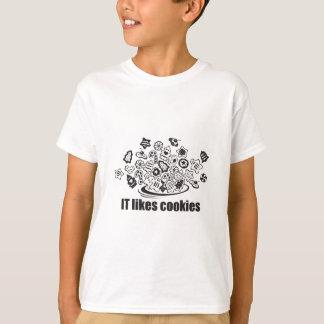 Tiene gusto de las galletas playera